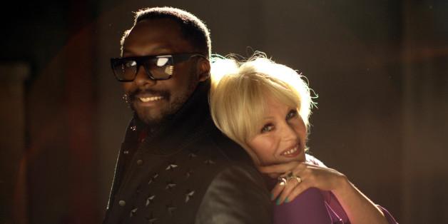 Will.i.am and Joanna Lumley
