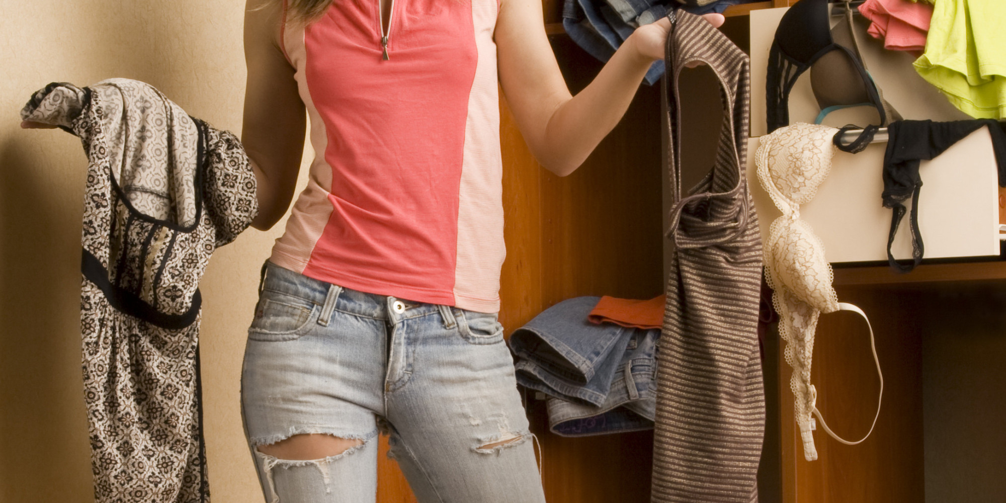 The Average Woman Owns Over $500 Worth Of Unworn Clothing, New Survey  Reports | HuffPost