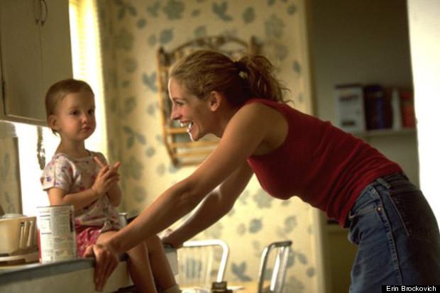 single mother erin brockovich