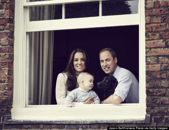 duke and duchess of cambridge kate george