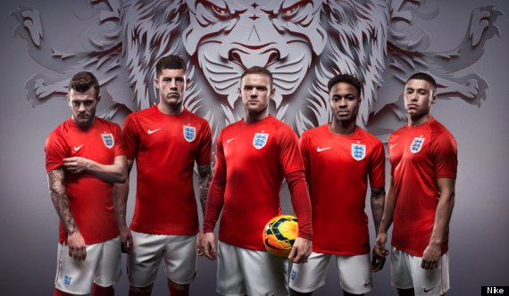 england nike world cup kit