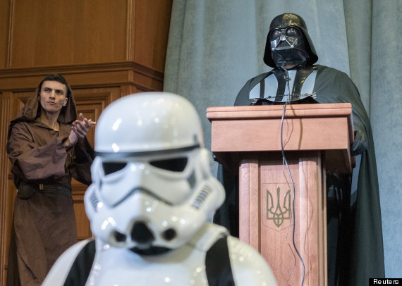 darth vader of ukraine internet party