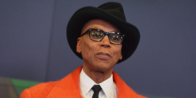 NEW YORK, NY - FEBRUARY 24:  TV personality RuPaul rings the closing bell at NASDAQ MarketSite on February 24, 2014 in New York City.  (Photo by Slaven Vlasic/Getty Images)