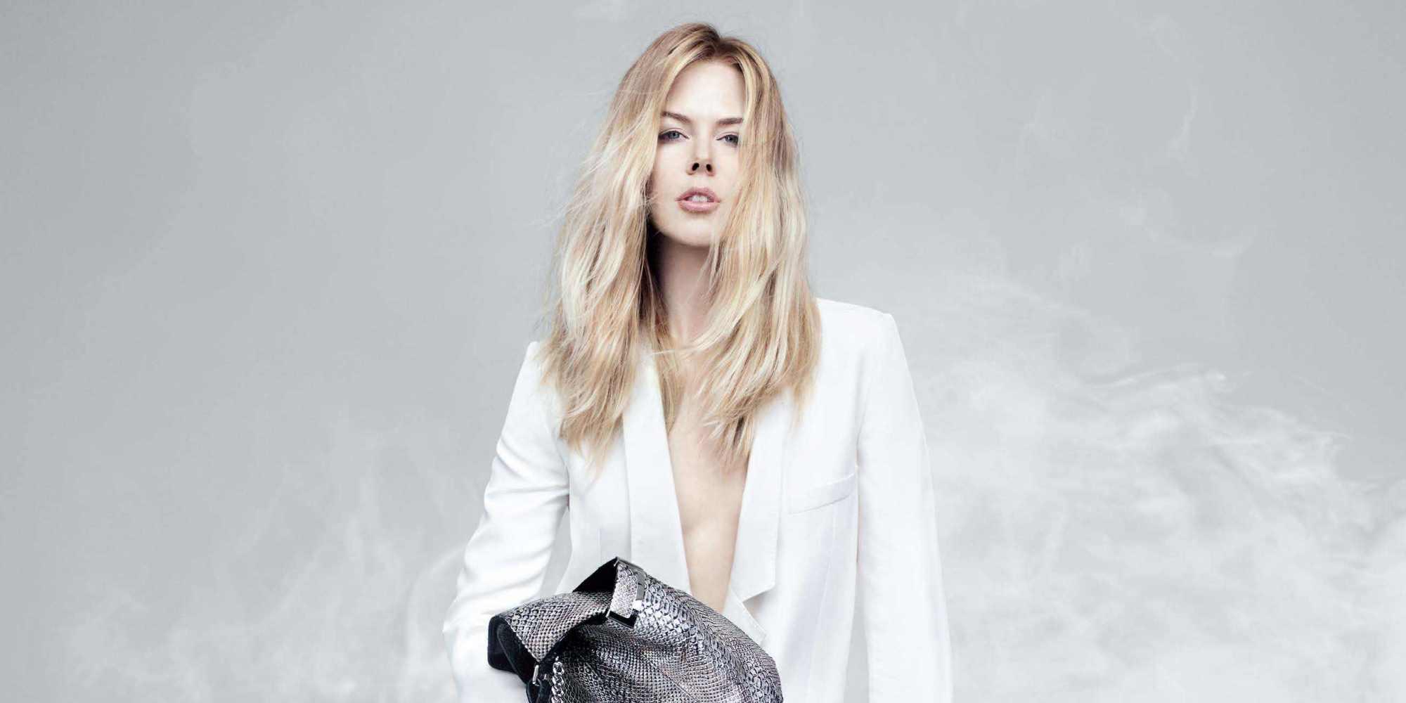 Nicole Kidman Forgoes Pants In New Jimmy Choo Ad