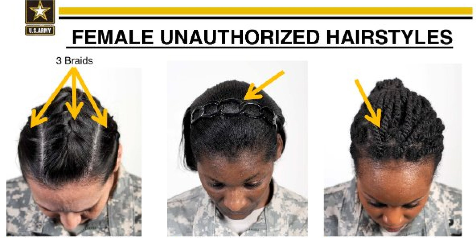 Black Female Sol rs Criticize Armys New Hairstyle Rules As