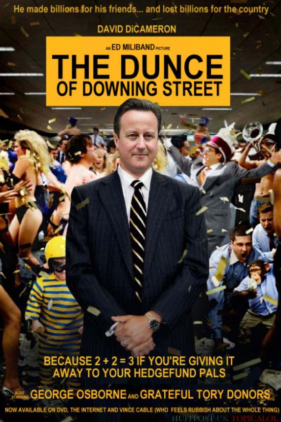 dunce of downing street