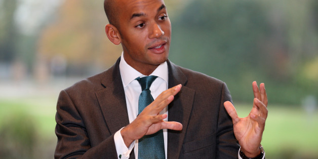 Shadow Business Secretary Chuka Umunna takes questions during a visit to TTP group in Melbourn, Cambridgeshire.