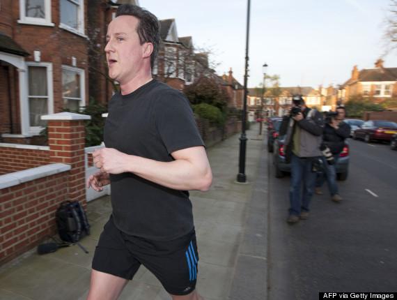 david cameron jog