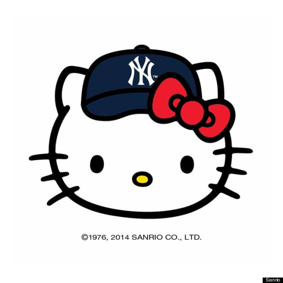 Hello kitty mlb partnership makes sure women have cartoons on their according to a quote by howard smith senior vice president licensing of major league baseball in a press release the hello kitty brand appeals to a voltagebd Choice Image