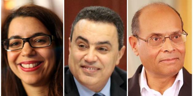 Moncef Marzouki, Mehdi Jomâa et Amel Karboul, les agents publicitaires pour la destination Tunisie