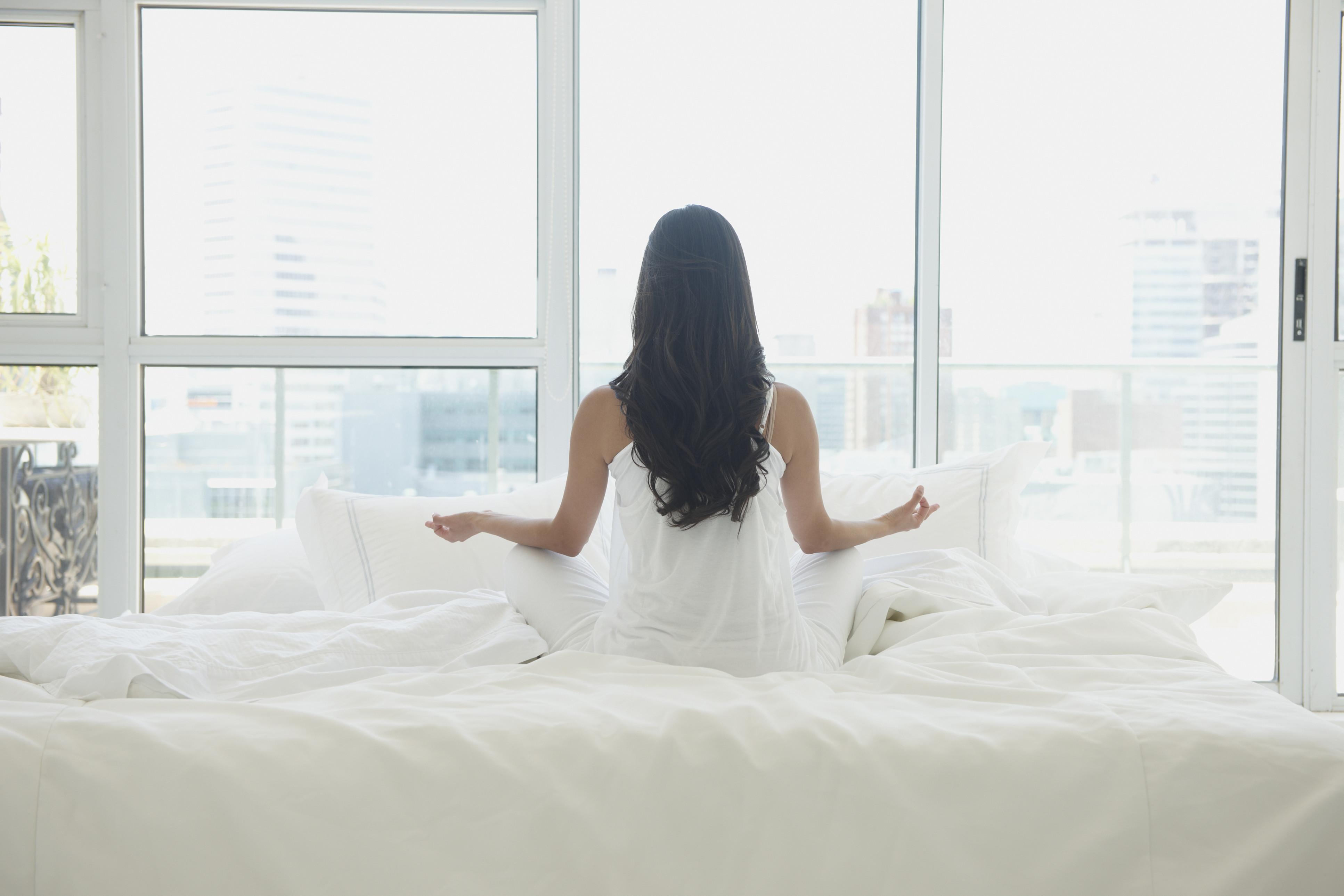 yoga bedroom