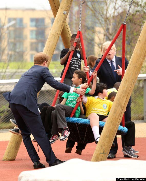 prince harry swing