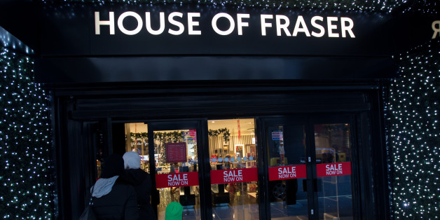 The House of Fraser store on Oxford Street in Central London.