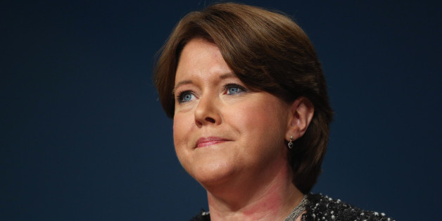 Maria Miller, Secretary of State for Culture, Media and Sport,  delivers her speech to delegates on the last day of the Conservative party conference, in the International Convention Centre on October 10, 2012 in Birmingham, England. In his speech to close the annual, four-day Conservative party conference, Prime Minister David Cameron stated 'I'm not here to defend priviledge, I'm here to spread it'.  (Photo by Oli Scarff/Getty Images)