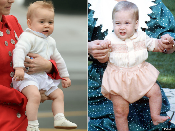 prince george and wills