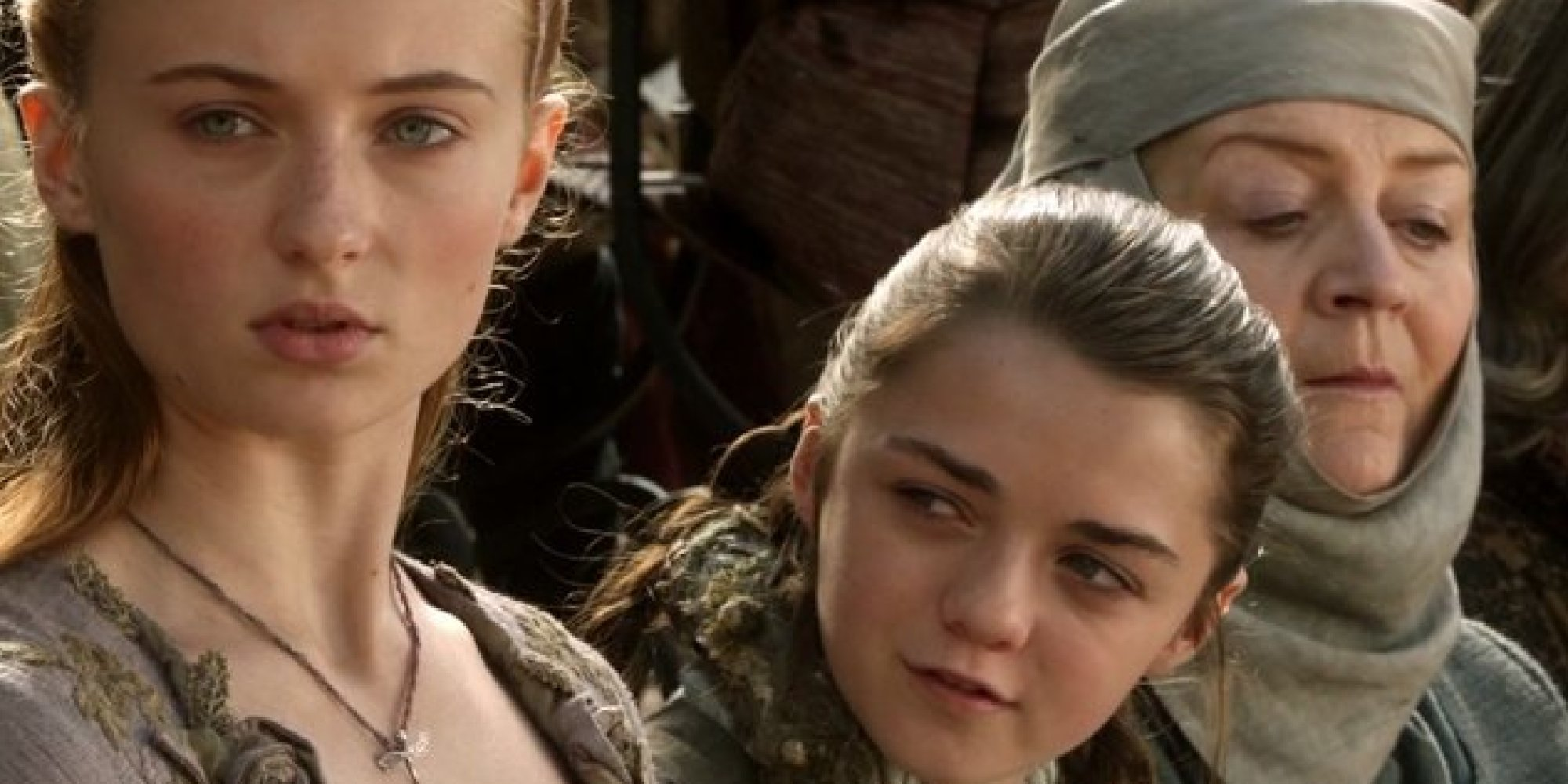 This game of thrones makeup tutorial brings the stark sisters this game of thrones makeup tutorial brings the stark sisters together huffpost baditri Images
