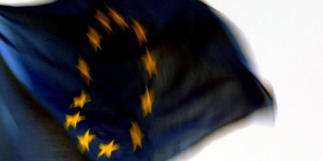 File photo dated 01/05/04 of the European flag as Britain is facing growing isolation in the European Union as the eurozone states move to integrate their fiscal and economic policies more closely, a parliamentary report has warned.