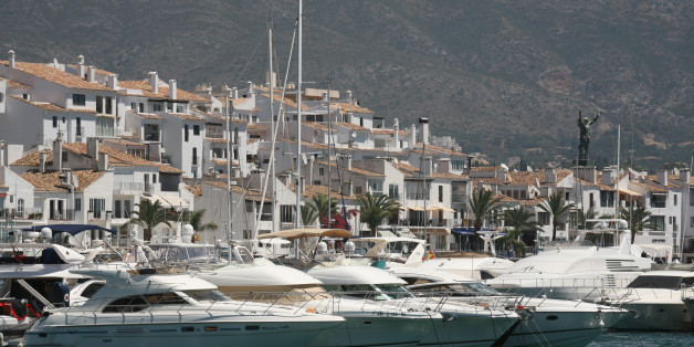 Bush was found dead near Marbella in Spain