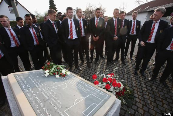 manchester united munich memorial