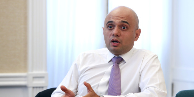 Sajid Javid, financial secretary to the U.K. treasury, speaks during an interview in London, U.K., on Tuesday, Nov. 5, 2013. U.K. industrial production rose more than economists forecast in September, helped by a rebound in manufacturing after a slump the previous month. Photographer: Chris Ratcliffe/Bloomberg via Getty Images