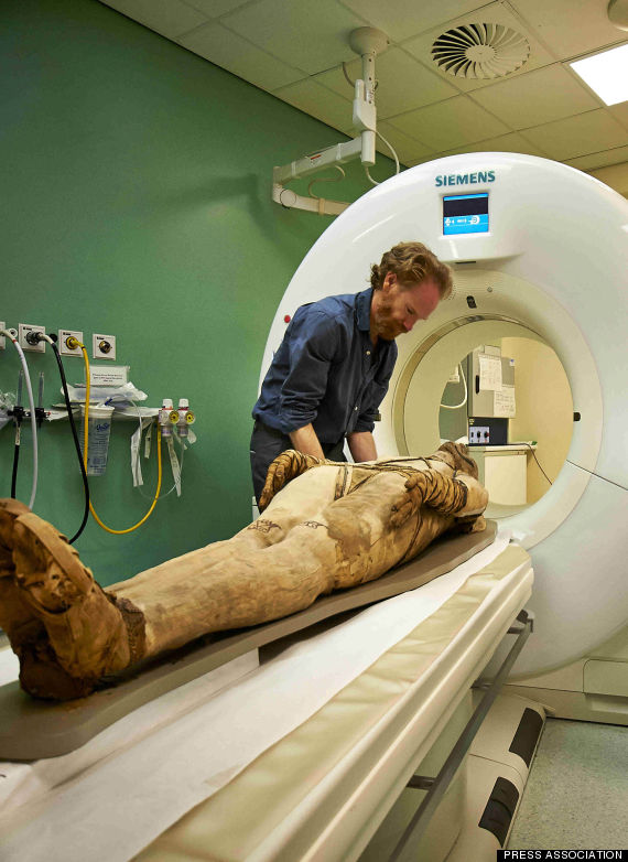 mummy ct scan