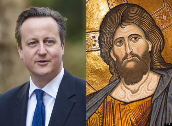 david cameron jesus christ