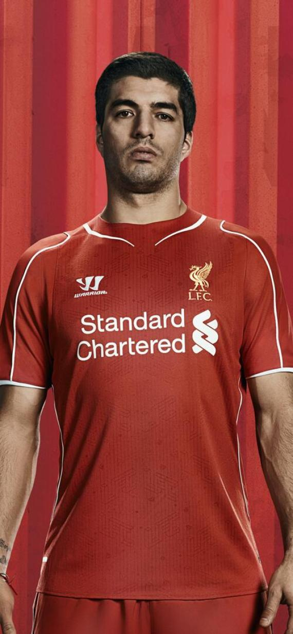 liverpool home kit warrior