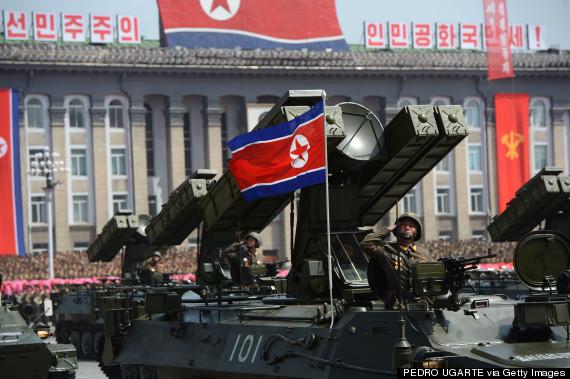 north korea army parade