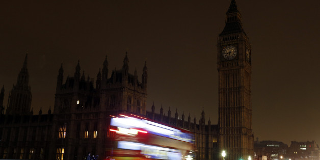 A view of Big Ben and the Houses of Parliament which went dark for an hour tonight as the UK took part in Earth Hour.