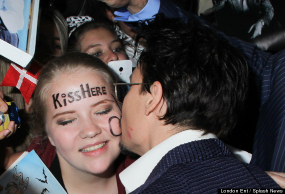 johnny depp kiss