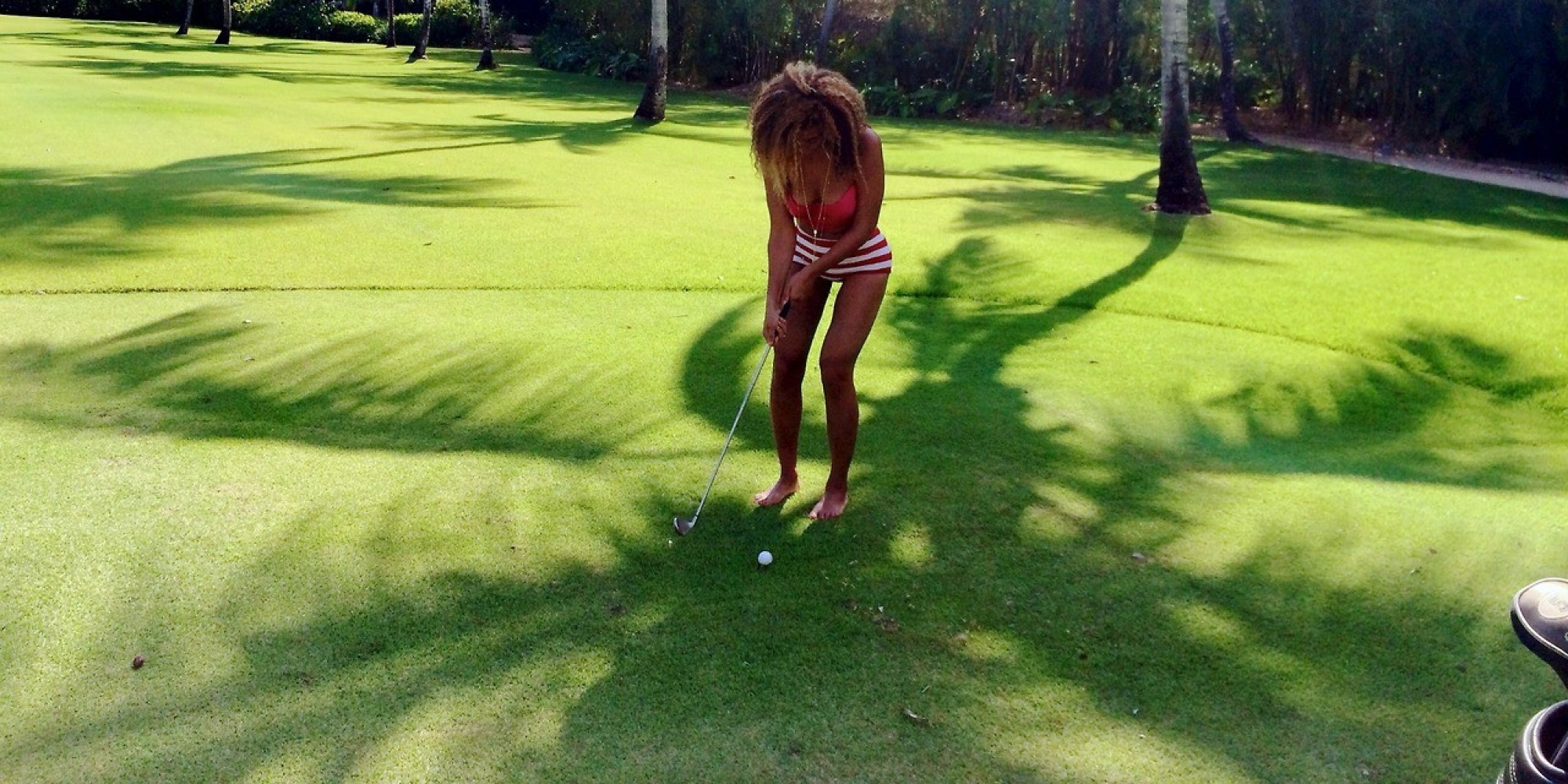 Beyonce Photoshopping Thighs In Pic To Create 'Gap ...