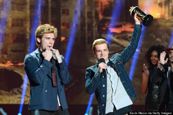 mtv movie awards hunger games