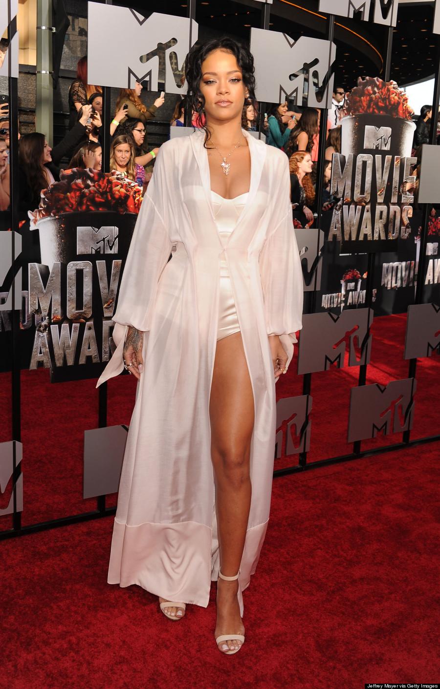 Rihanna 2014 Red Carpet Dress