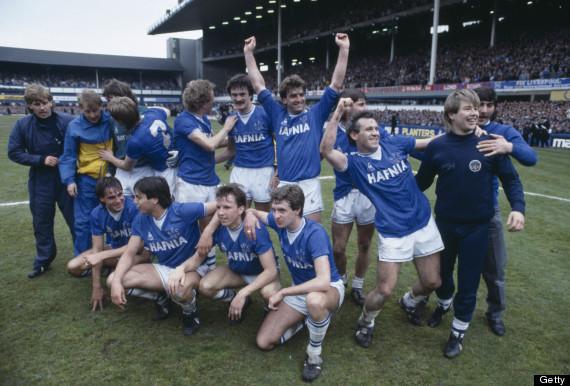 everton title winners 1985