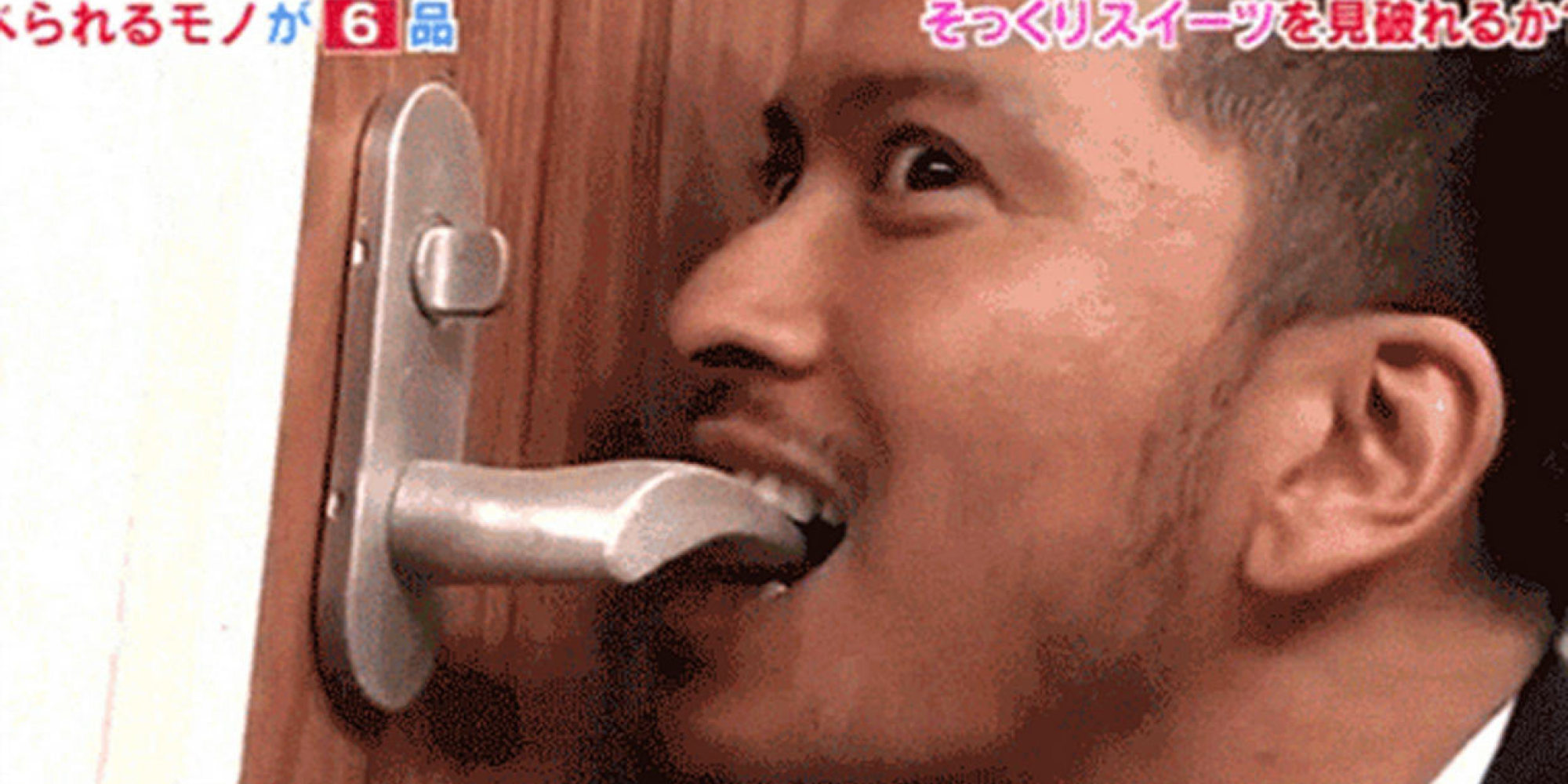 Japanese Game Show Makes Celebs Eat Household Objects That Might Be Candy Huffpost