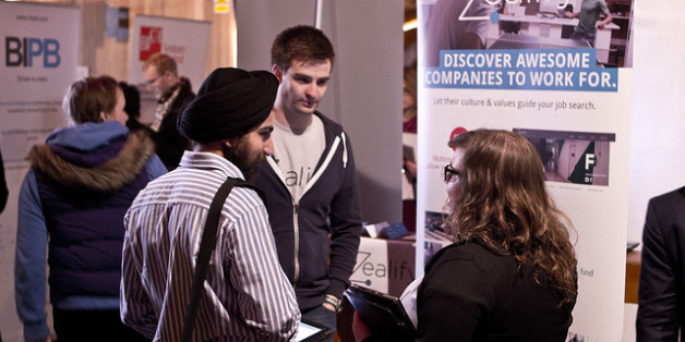NACUE's recent event of students chatting with start-ups