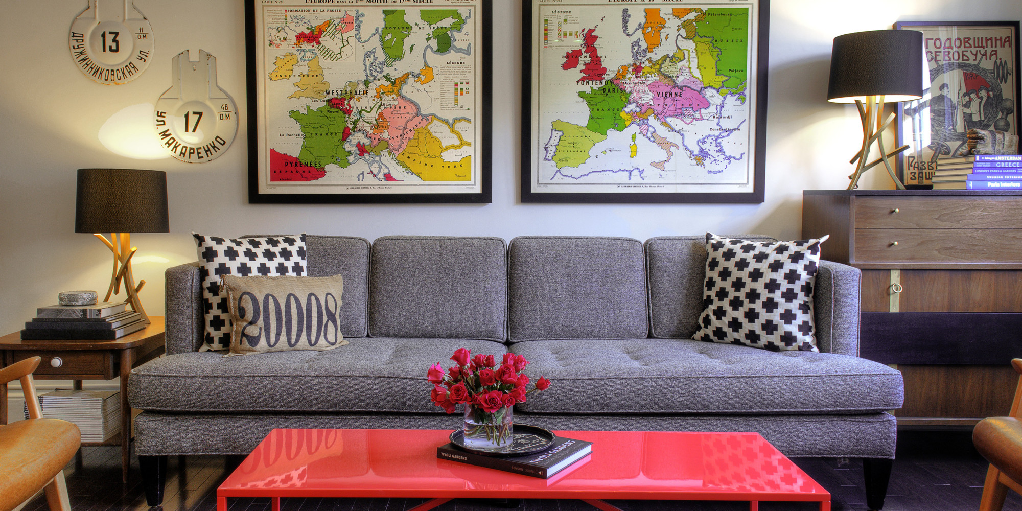 cheap living room decorations.  50 Ways To Update Your Living Room For Or Less PHOTOS HuffPost