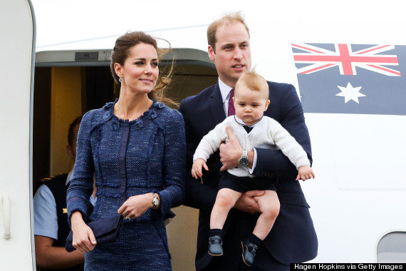 william and kate and george
