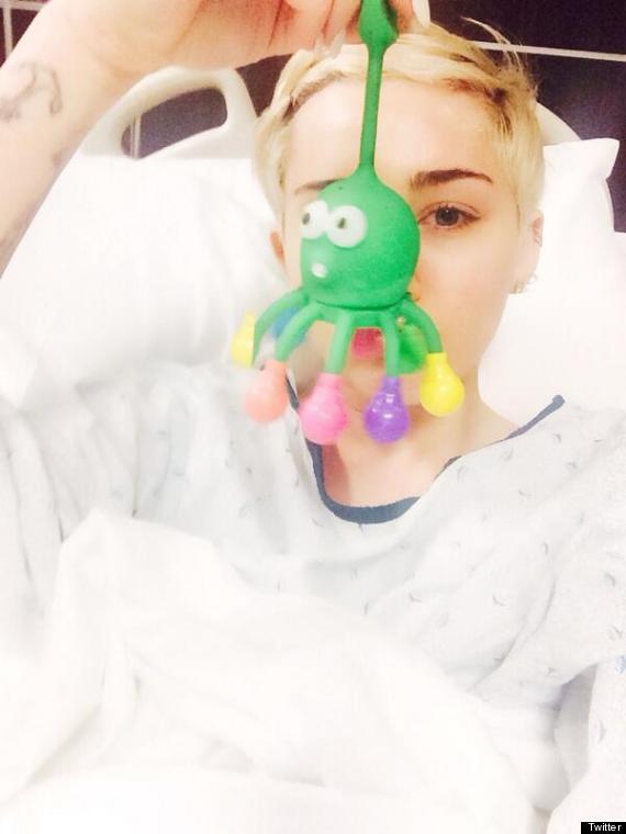 miley cyrus hospital