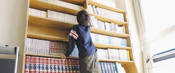 library japan child