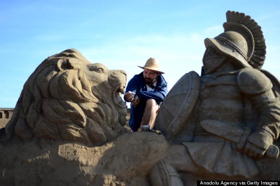 8th international antalya sand sculpture festival