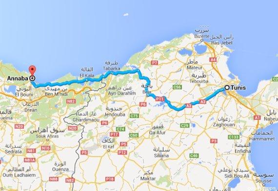 voyage tunisie par route