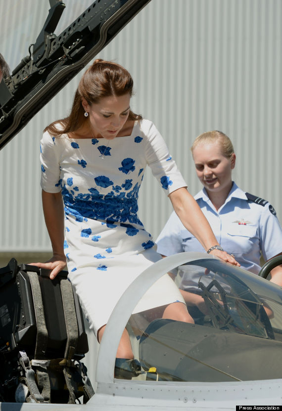 kate middleton airjet