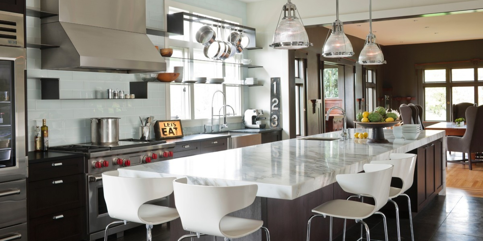 These 14 incredible kitchens are what dreams are made of for Gourmet kitchen designs