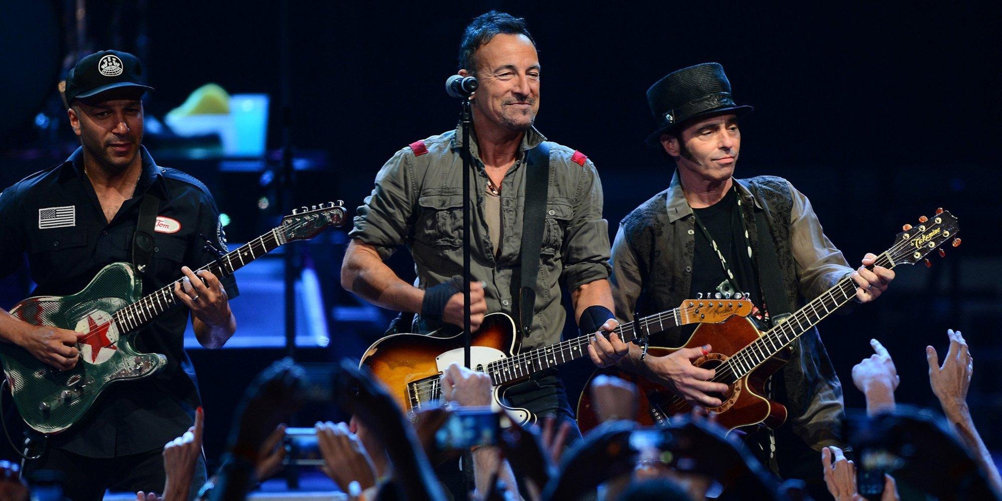 Bruce Springsteen Tom Morello Tour