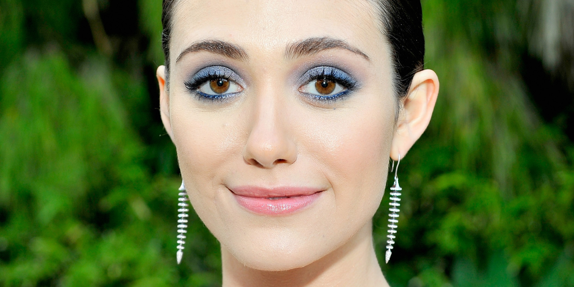 Makeup for small blue eyes