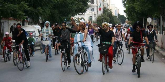 Tunisie: Le troisième rassemblement de cyclistes déguisés aura lieu le 4 mai 2014 en banlieue nord de Tunis