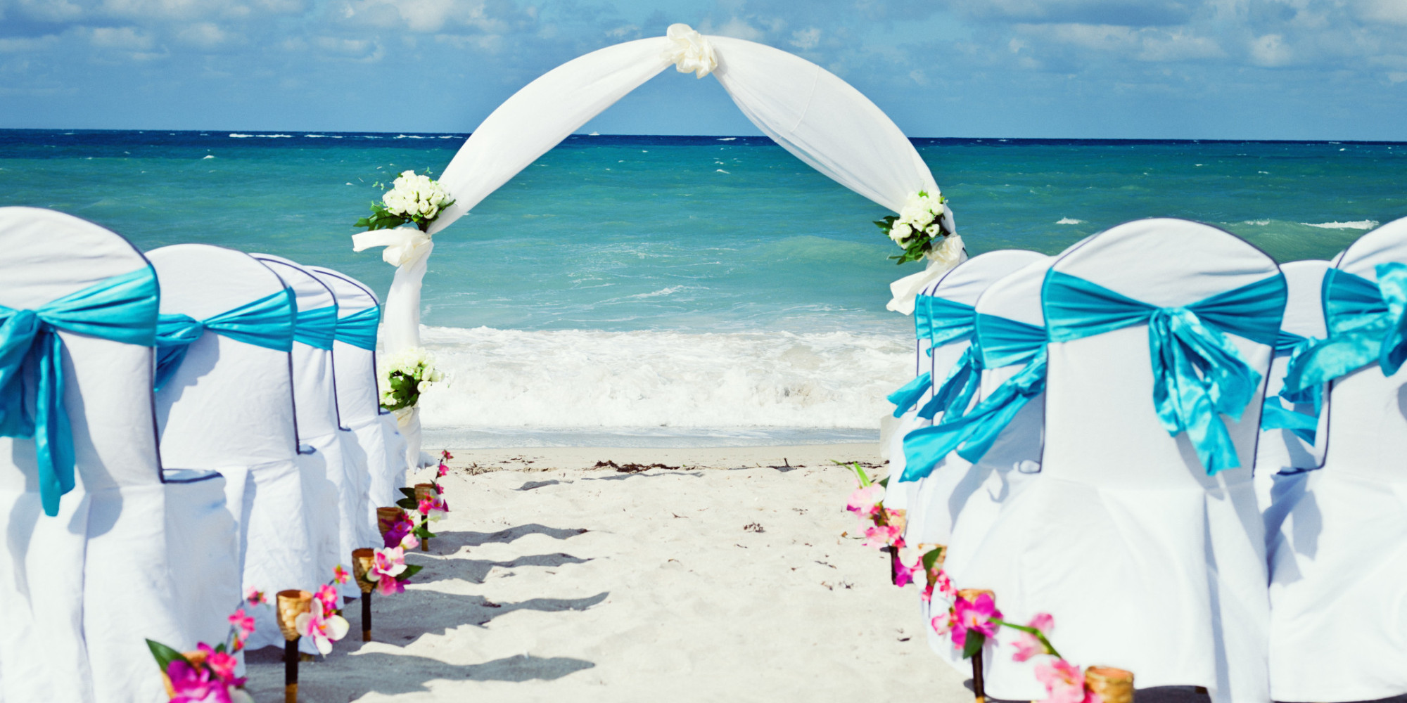 Holiday destination wedding