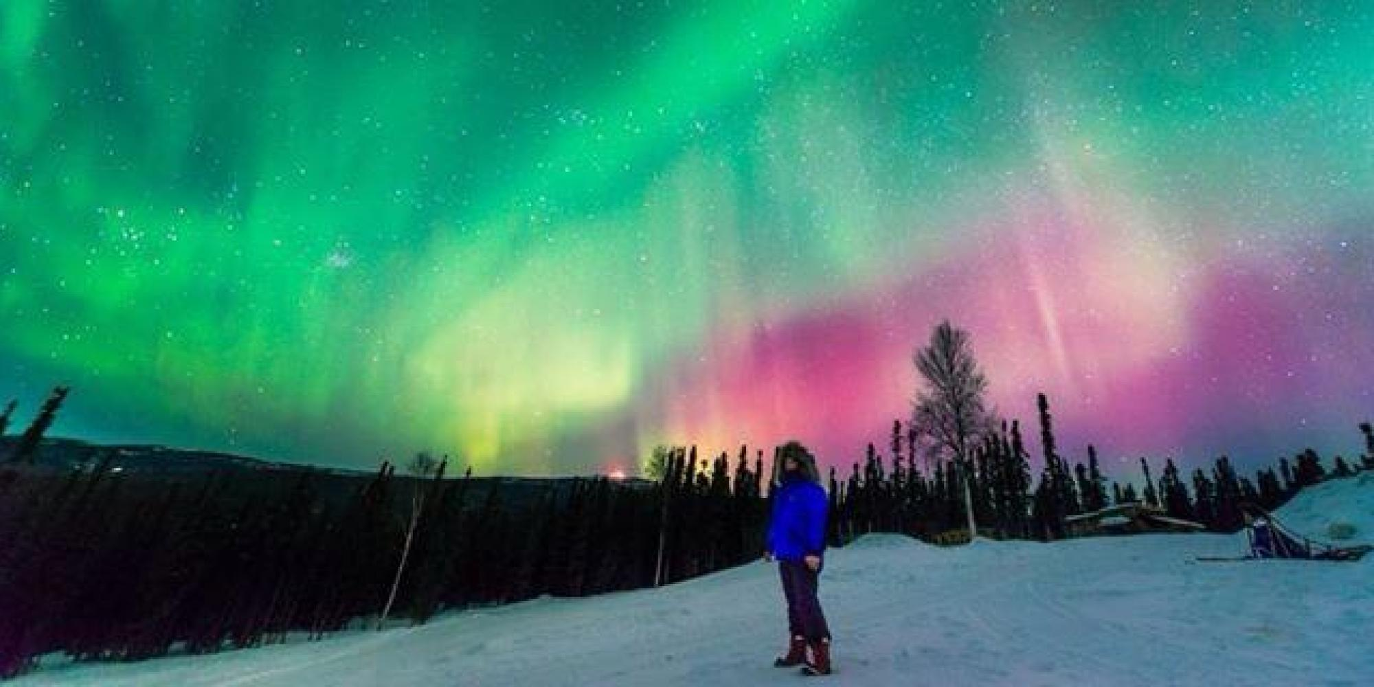 Charming If You Canu0027t Get To Alaska, This Dreamy Time Lapse Video Is A Great Way To  See The Northern Lights | HuffPost