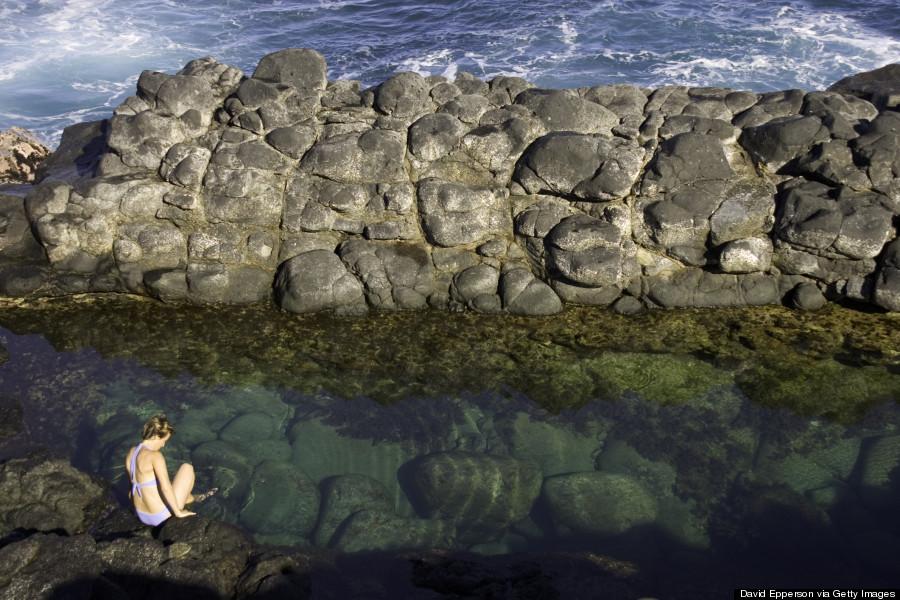 queens bath kauai